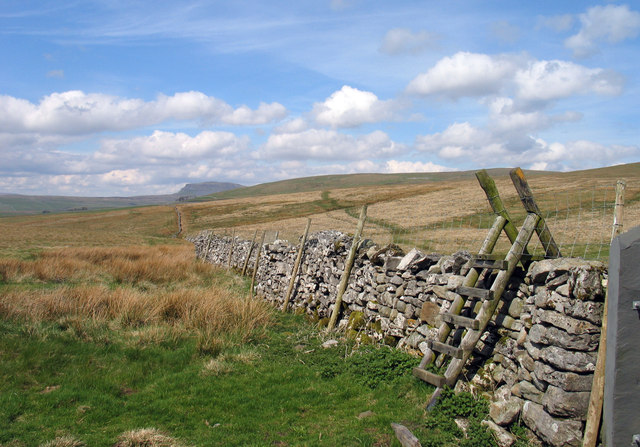 Dry stone wall at Gorbeck