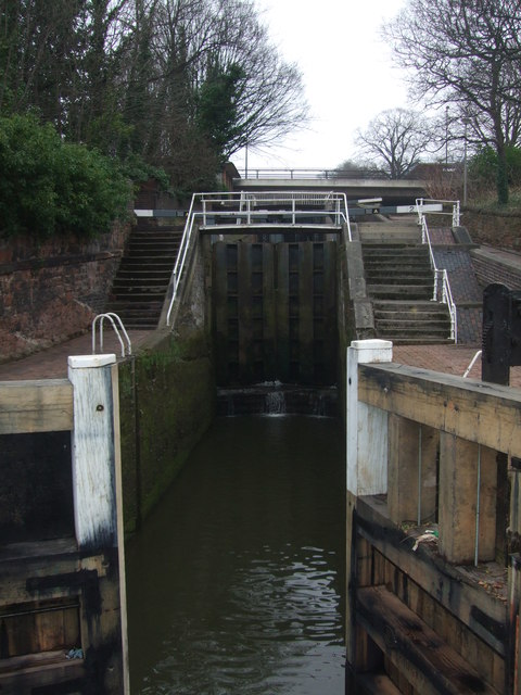 Northgate Staircase Lock Chester