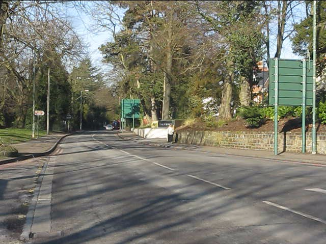 Solihull - Warwick Road north of Lode Lane roundabout