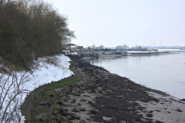 Up-river from Kendal Park (Winter)