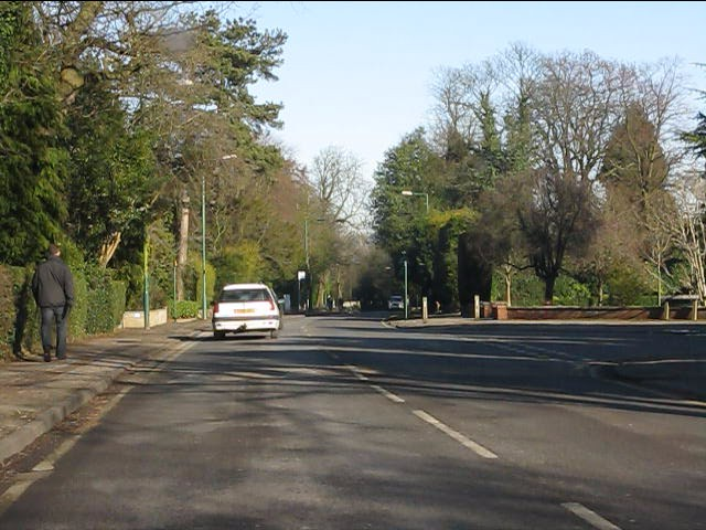 St Bernards Road at Monastery Drive