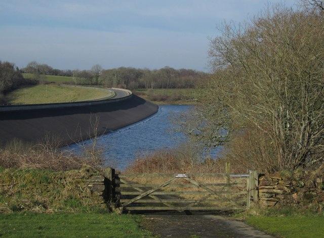 Roadford dam
