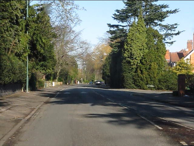 St Bernards Road at Woodshires Road