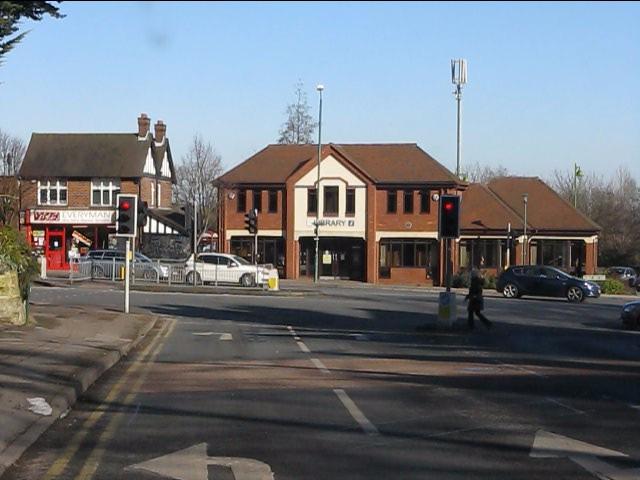 Warwick Road from St Bernards Road