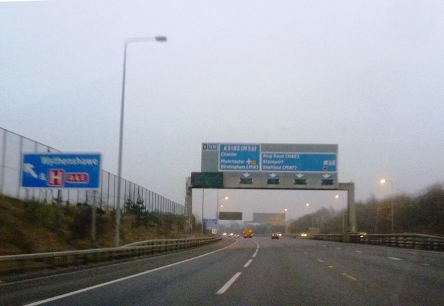Gantry over M60