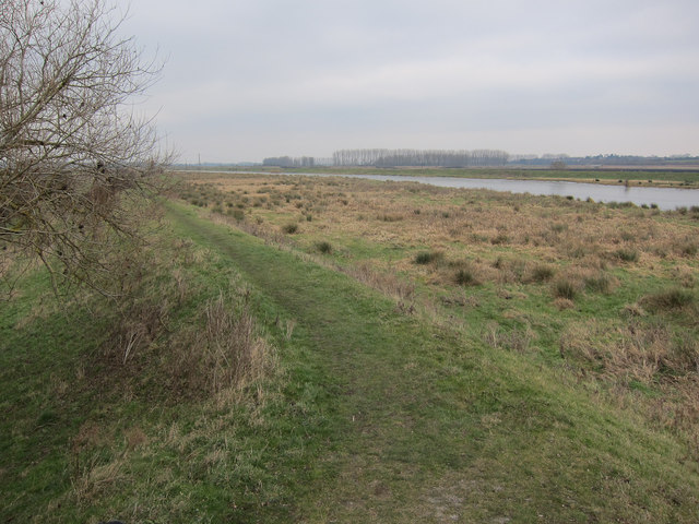 Washland by River Great Ouse