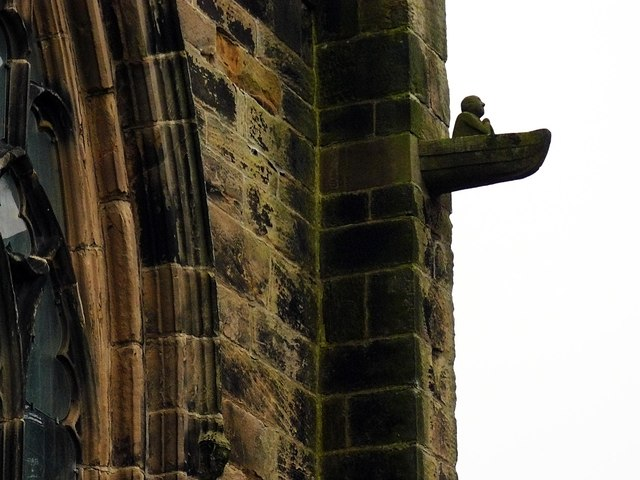 Gargoyle, St. Cuthbert's Church