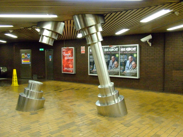 St Enoch subway station