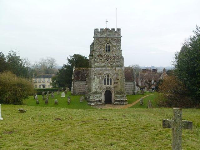 Witchampton, parish church