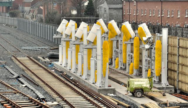 New train maintenance depot, Belfast (34)