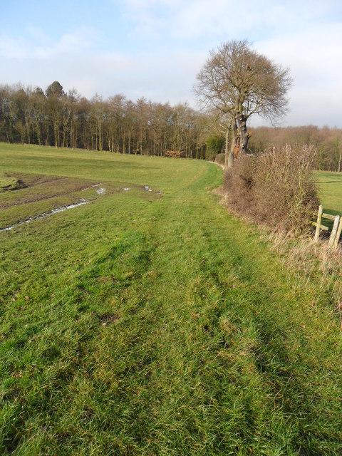 Footpath near Lower Coates