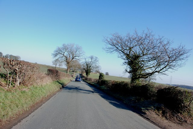 Gravelley Lane off the A452 Chester Road, Stonnall