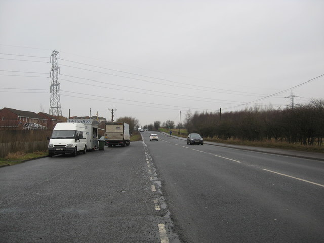 The A73 (Bellsfield Road) at Chapelhall