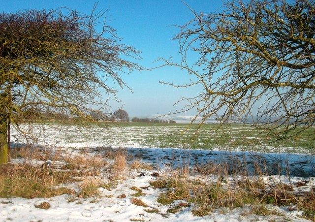 Light Snow near North Moreton