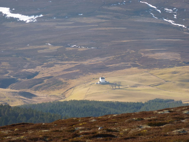 Corgarff Castle from Geal Charn