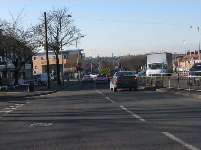 Bordesley Green East approaching Richmond Road