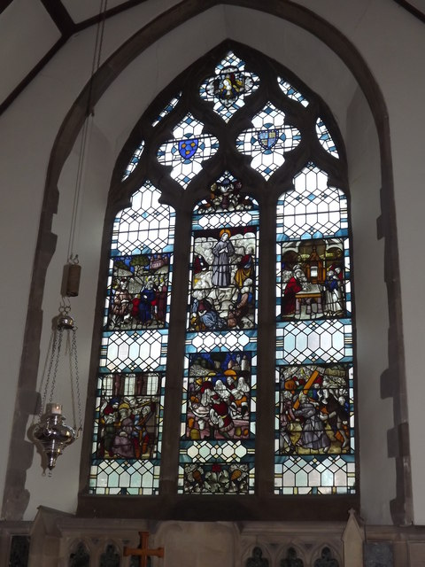 East Window, St Nicolas Church