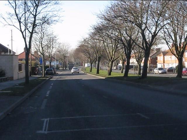 Bordesley Green East west of Richmond Road