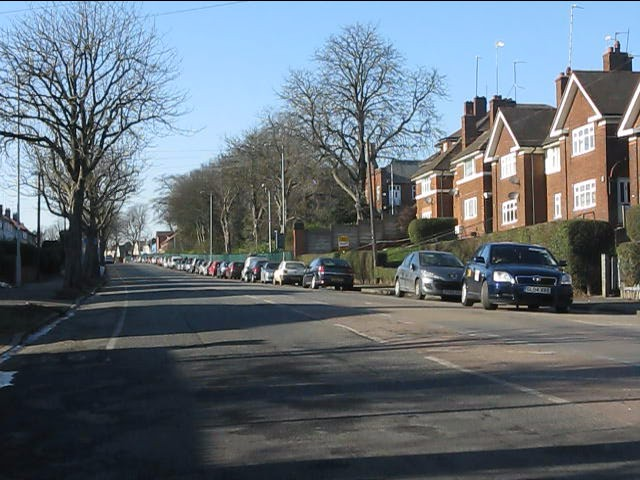 Yardley Green Road from Little Bromwich Road