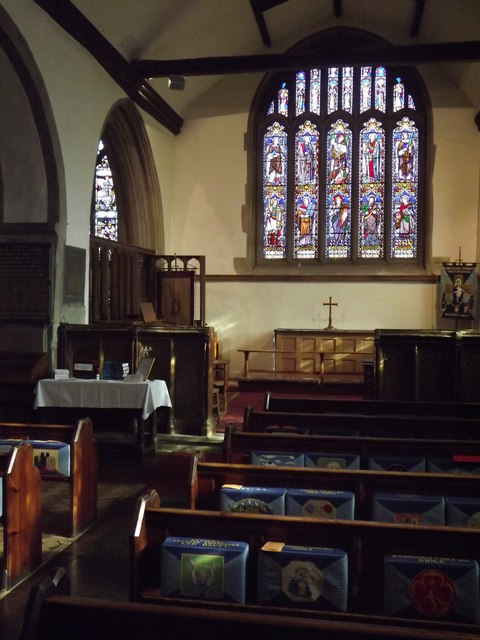South Aisle, Great Bookham Church