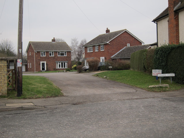 Chapel Close, Little Thetford