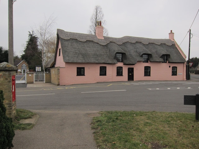 Thatched house, Little Thetford