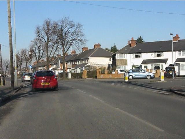 Belcher's Lane at Repton Road