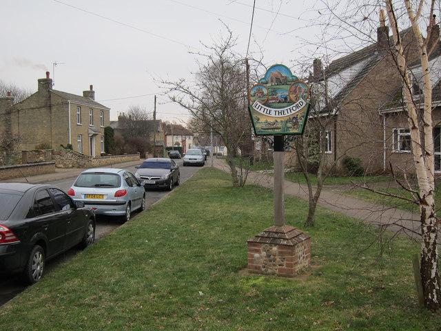 Little Thetford village sign