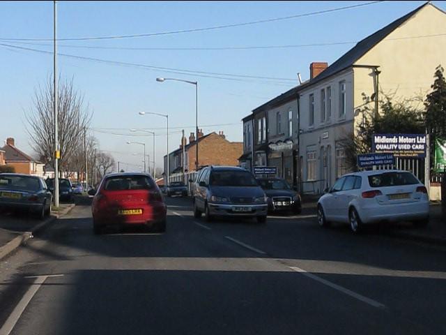 Cotterills Lane at Midlands Motors