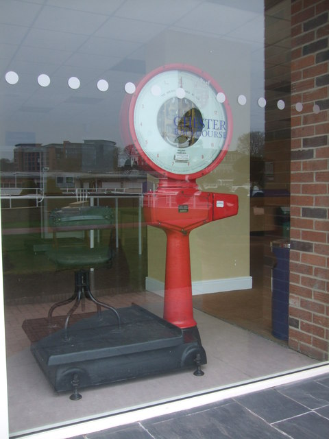 Weighing machine Chester Racecourse