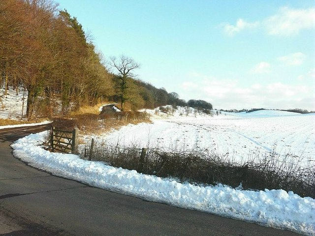 Hoad Road to Swingfield & Lydden