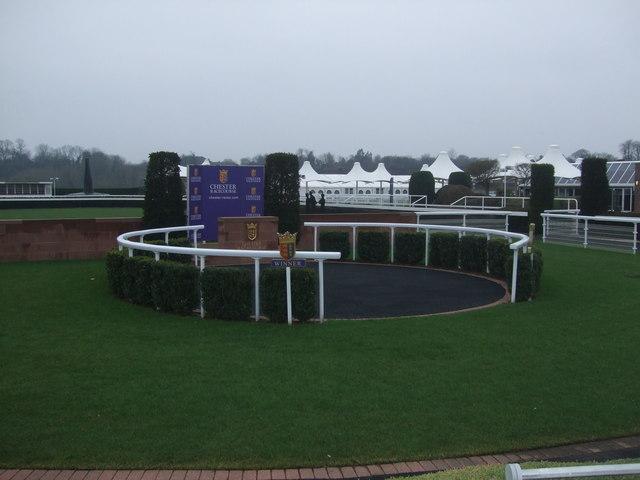 Winners enclosure Chester Racecourse