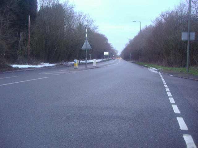 Court Road (Orpington Bypass) at the junction of Bucks Cross Road