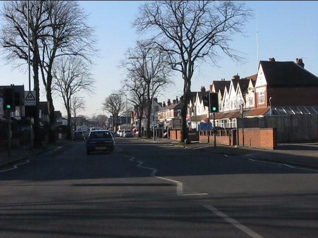 Washwood Heath Road west of Foley Road