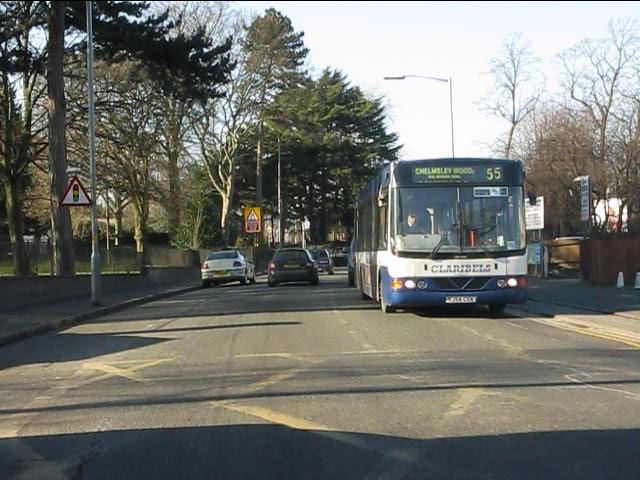 Washwood Heath Road at Ward End Park