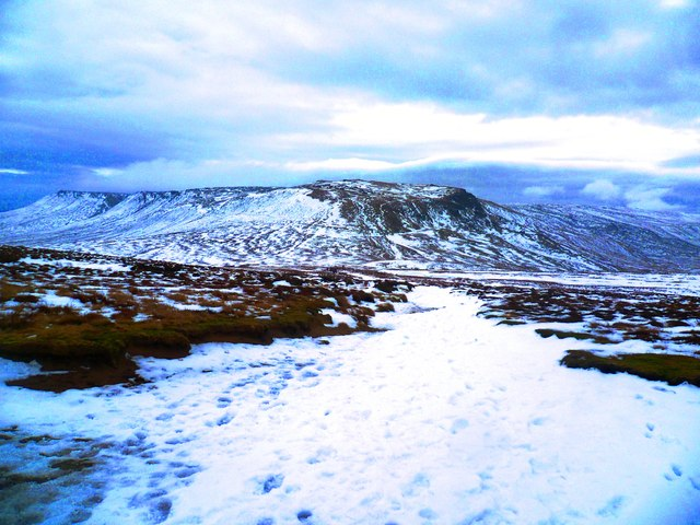 The Path Towards Kinder Scout from Mill Hill