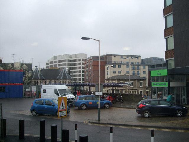 Swindon from Swindon Station