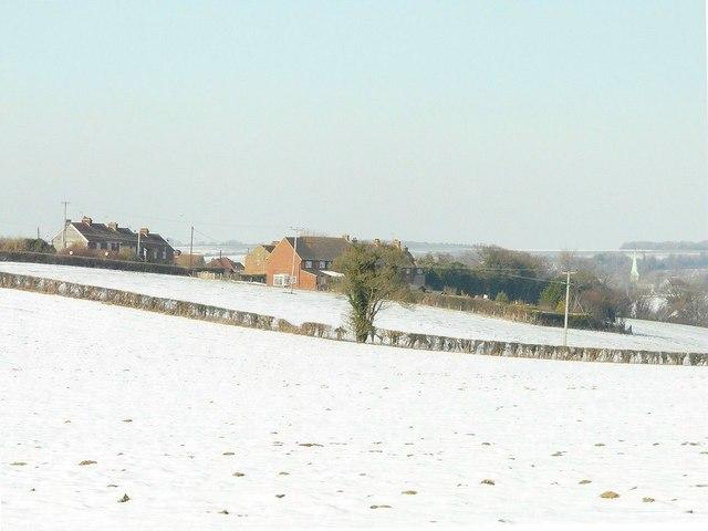 View towards Barham church