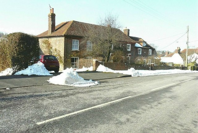 Two houses on Derringstone Hill