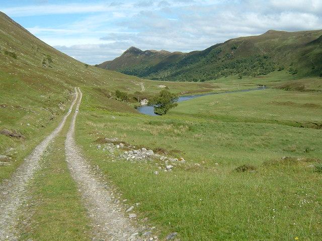 Track through Gleann Mor