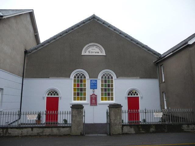 Old chapel in Llanbadarn Fawr