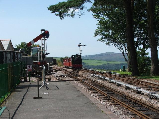 Axe on the Lynton & Barnstaple Railway