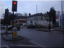 TQ4265 : Junction of Croydon Road and Westerham Road by David Howard