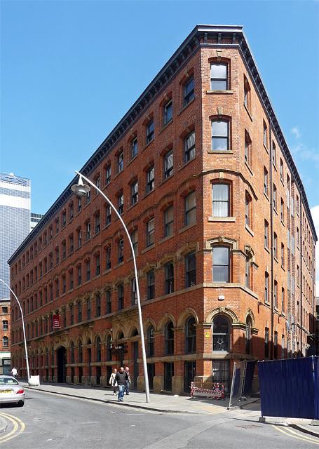 Victoria Buildings, Dantzic Street, Manchester