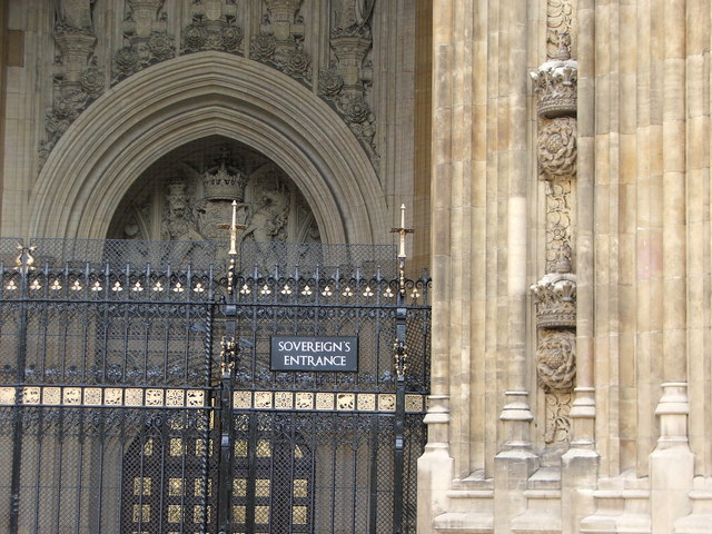 Sovereign's Entrance,  Palace of Westminster
