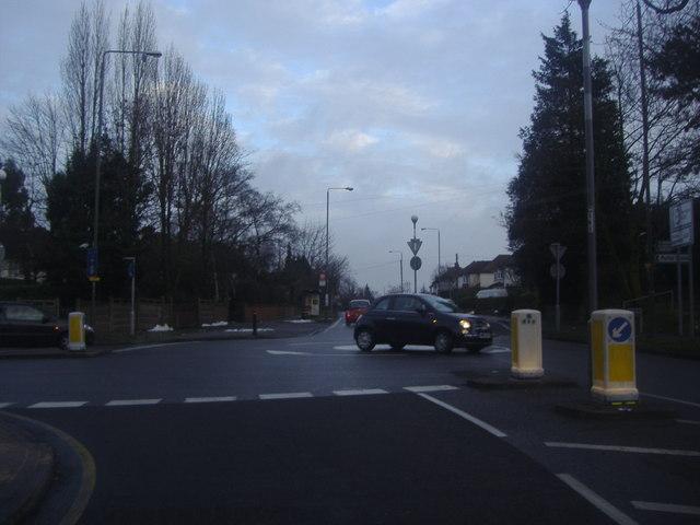 Junction of Crofton Road and Crofton Lane