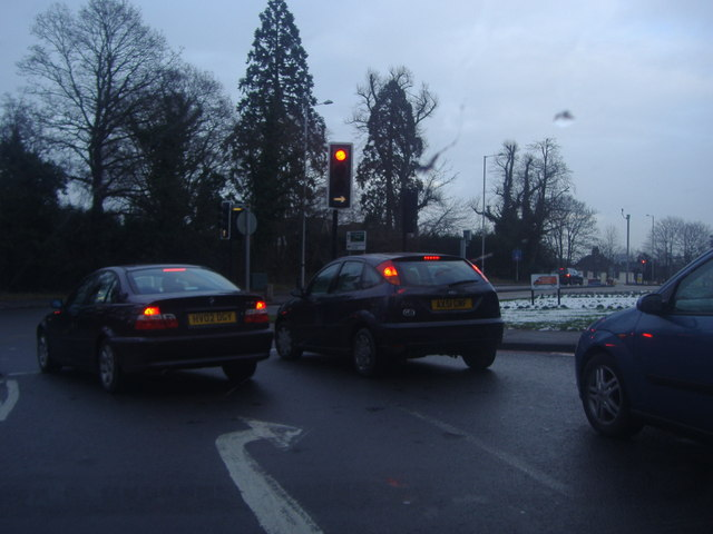 Croydon Road at Farnborough Common