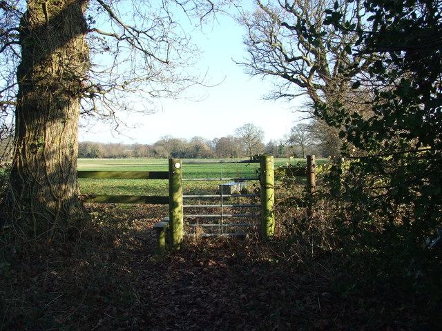 Gate And Stile, Heading Towards Uddens Park