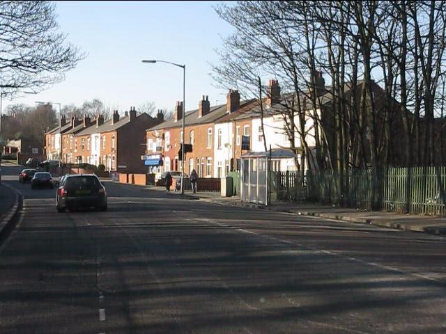 Washwood Heath Road west of Drews Lane
