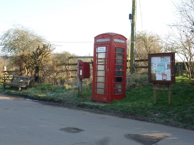 Trent: postbox № DT9 85 and other amenities